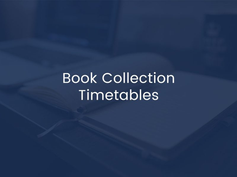 Book Collection Timetables
